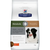 Hill's, PD, Metabolic Mobility, корм д/собак коррекция веса, суставы