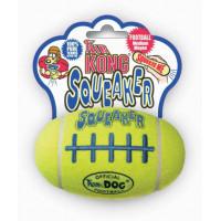 """Kong Air, """"Рэгби"""", жевательная  игрушка большая д/собак 19 см"""