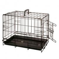 Karlie-Flamingo, клетка д/собак, 1 дверь, черная (47х30х37 см.)
