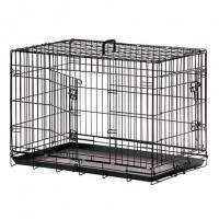 Karlie-Flamingo, клетка д/собак, 2 двери, черная (109x70x76 см.)