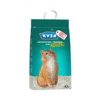 Кузя, наполнитель минеральный д/туалета д/кошек (крупный)