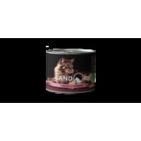 Landor, Adult, влажный корм д/стерил. кошек (индейка/клюква)