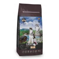 Landor, Adult, корм д/собак всех пород (рыба/рис)