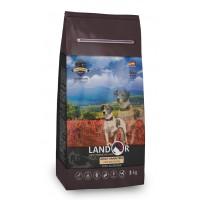 Landor, Adult, корм д/собак всех пород (ягненок/картофель)