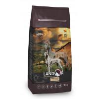 Landor, Adult, корм д/собак крупных пород (ягненок/рис)