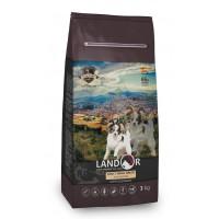 Landor, Adult, корм д/собак мелких пород (утка/рис)