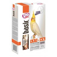 LoLo Pets, Food Complete, корм для корелл (средних) попугаев