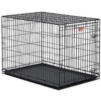 MidWest, iCrate, клетка 1 дверь черная (106х71х76 см.)