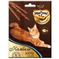Мнямс, Деликатес, лакомые палочки д/кошек (камбала)