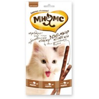 Мнямс, лакомые палочки д/кошек (индейка/ягненок)