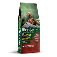 Monge, Bwild Grain Free, беззерновой корм для собак всех пород (ягненок)
