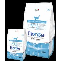 Monge, DL, Kitten, корм д/котят (курица)