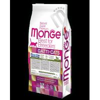 Monge, FL, Sensitive, корм д/кошек (чувств. пищеварение)