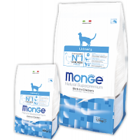 Monge, FL, Urinary, корм д/кошек (профилактика МКБ)