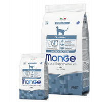 Monge Monoprotein, Sterilised Adult, корм д/кошек (форель)