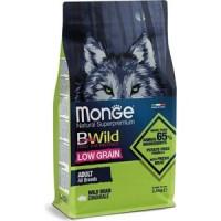 Monge, BWild Low Grain низкозерновой корм д/собак всех пород (кабан)