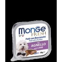 Monge, Fresh, влажный корм д/собак (ягненок)