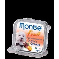 Monge, Fruit, влажный корм д/собак (утка/апельсин)