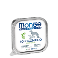 Monge, Monoproteico, влажный корм д/собак (кролик)
