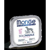 Monge, Monoproteico, влажный корм д/собак (свинина)