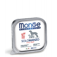 Monge, Monoproteico, влажный корм д/собак (говядина)