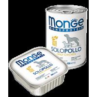 Monge, Monoproteico, влажный корм д/собак (курица)