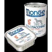 Monge, Monoproteico, влажный корм д/собак (индейка)