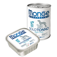 Monge, Monoproteico, влажный корм д/собак (тунец)