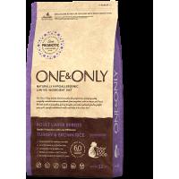 One&Only, Maxi, корм д/собак крупных пород (индейка/рис)