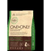 One&Only, Mini, корм д/собак мини пород (индейка/рис)