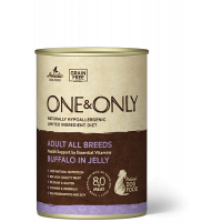 One&Only, Adult, влажный корм д/собак (буйвол в желе)