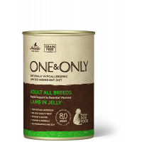 One&Only, Adult, влажный корм д/собак (ягненок в желе)