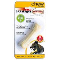Petstages, Chick-A-Bone косточка маленькая с ароматом курицы, игрушка для собак для собак 8 см