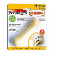 Petstages, Chick-A-Bone косточка с ароматом курицы, игрушка для собак для собак 11 см