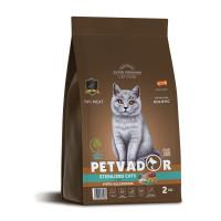 Petvador, Sterelized, корм д/стерилизованных кошек (утка/рис)
