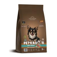 Petvador, Small Breed, корм д/собак мелких пород  (ягнен/утка)