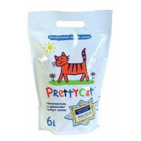 PrettyCat, Wood Granules, наполнитель древесный для кошачьих туалетов