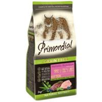 Primordial, GF, Kitten, корм д/котят (утка/индейка)
