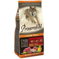 Primordial, GF, Adult, корм д/собак всех пород (буйвол/макрель)