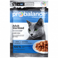 ProBalance, Adult Sterilized, влажный корм д/кошек (стерил./ кастр.)
