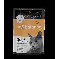 ProBalance, Adult Beef, влажный корм д/кошек (говядина)