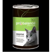 """Probalance """"Sensitive"""" влажный корм для кошек"""