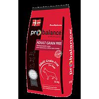 ProBalance, Adult Grain Free, корм д/собак всех пород (птица/рис)