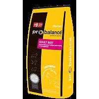 ProBalance, Adult Beef, корм д/собак всех пород (говядина)