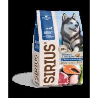 Sirius, корм д/собак с повышенной активностью (три мяса с овощами)