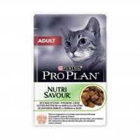 Pro Plan, Adult, влажный корм д/кошек (ягненок)
