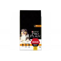 Pro Plan, Adult Medium, корм д/собак средних пород (курица)