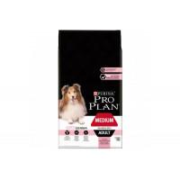 Pro Plan, Adult Medium, корм д/собак средних пород (лосось)