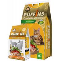 Puffins, корм д/кошек (вкусная курочка)