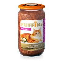 Puffins, влажный корм д/кошек (ягненок в паштете)